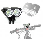 Farol para bicicleta / Sinalizador de LED SolarStorm X2
