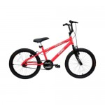 Bicicleta Feminina Aro 20 Cairu Cross Bella Girl Rebaixada - Neon