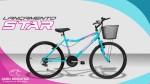 Bicicleta Feminina Aro 26 Cairu Star    LANÇAMENTO