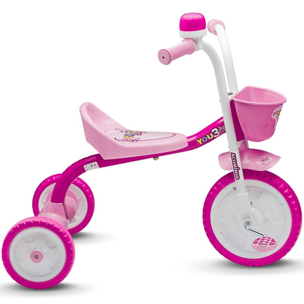 5aa9b95eed Triciclo You 3 Girl Nathor - BH Sport Cicle - Loja Virtual e Física ...
