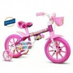 Bicicleta Nathor Flower PU Aro 12