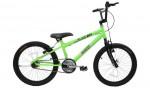 Bicicleta Masculina Aro 20 Cairu Cross Flash Boy Rebaixada - Neon