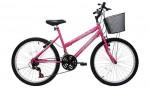 Bicicleta Feminina Aro 24 Cairu Bella