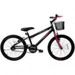 Bicicleta Feminina Aro 20 Cairu Bella Girl Rebaixada
